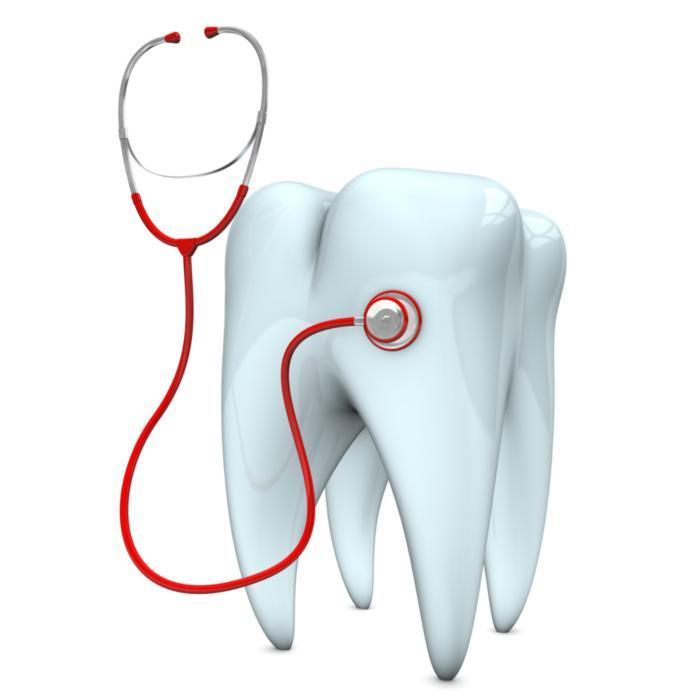 illustrated tooth with a stethoscope | Vallejo CA Dentist