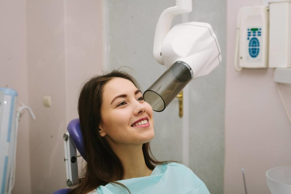 patient getting xray | Dentist vallejo ca