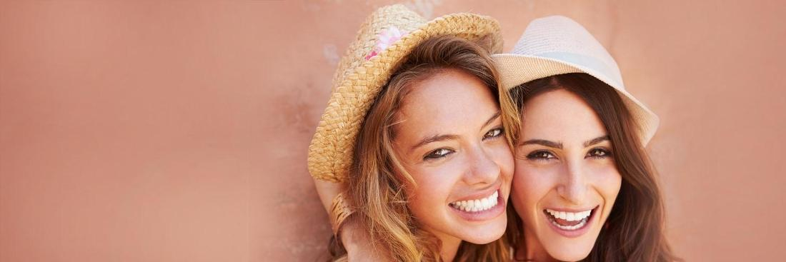 Two girls smiling | Dentist Vallejo CA