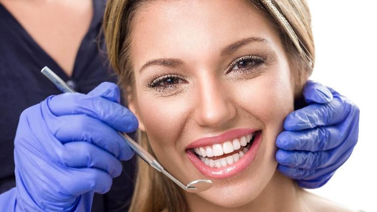 Woman showing off smile | Dentist Vallejo CA