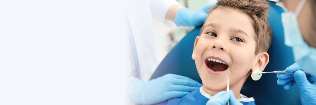 Little boy in dental chair | Dentist Vallejo CA